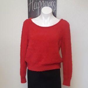 Victoria Secrets red sweater